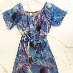 Tracy Reese Watercolor Dress